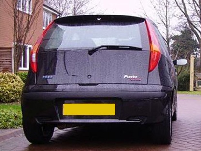 Fiat Punto - Odd Rear Lights