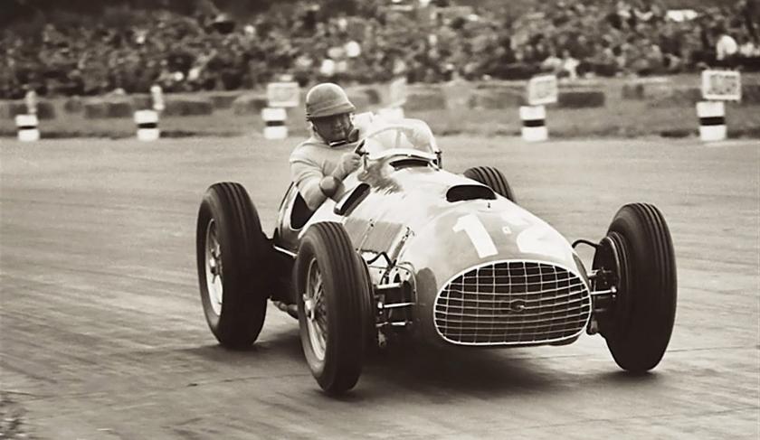 When effort mattered. Gonzales at speed - 1951