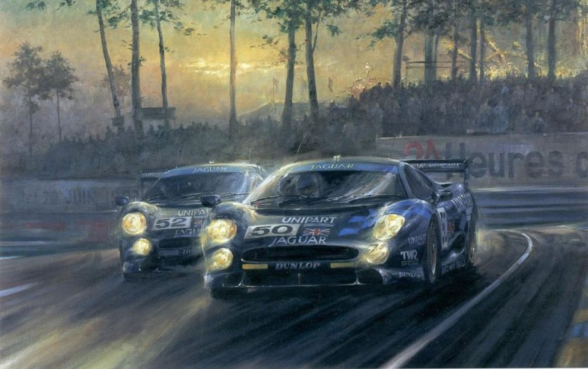 Le Mans 1993 by Alan Fearnley
