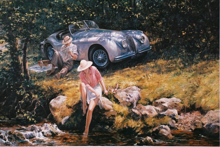The Summer 1950 by Alan Fearnley