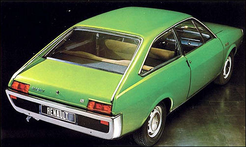 1971 Renault 15 TL: autoitalia.com