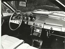 1971 Renault 17 interior