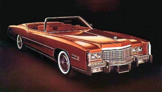 1975 Cadillac Eldorado: automotivemileposts.com