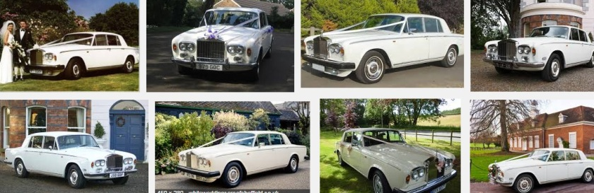 1976 Rolls Royce silver shadow wedding cars