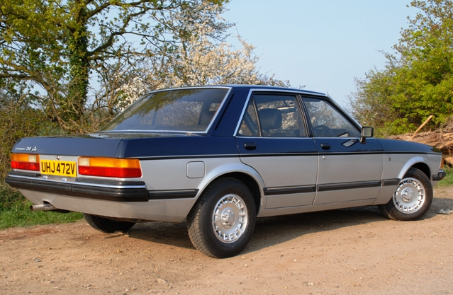 Impeccable style, incredible grace - that´s the 1979 Ford Granada Ghia Sapphire 2.8 V6: historics.co.uk