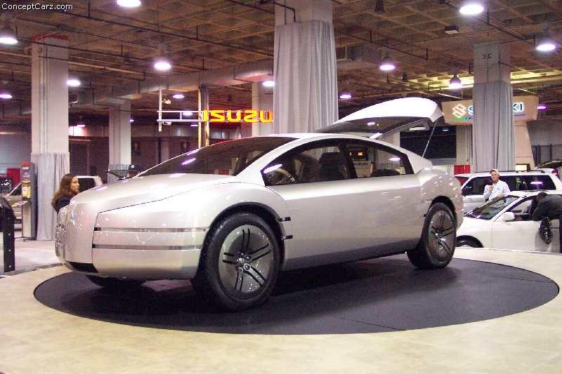 2000 Mitsubishi SSS concept car: