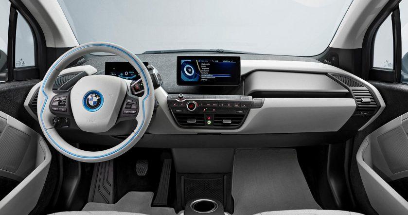 2014 BMW i3 interior: asymcar.com