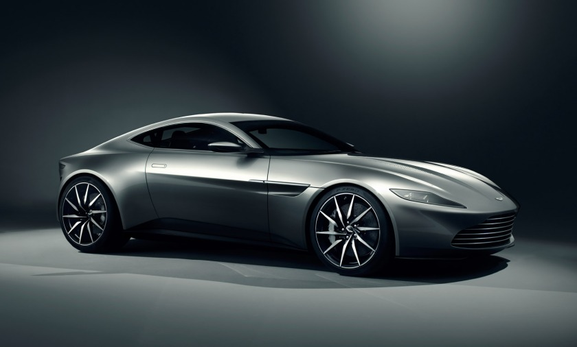 Aston Martin DB10 from Spectre: carconnection.com