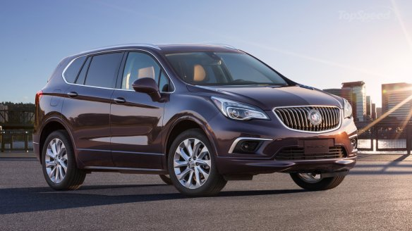 Made in China, the Envision by Buick: Motor Trend.com