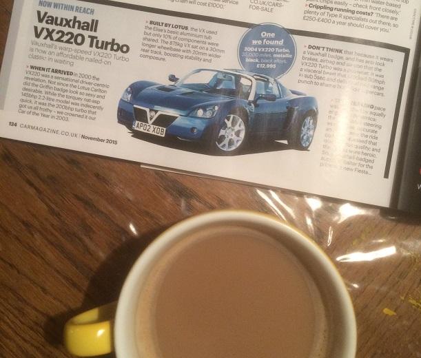 Car Magazine, November 2015, p.124.