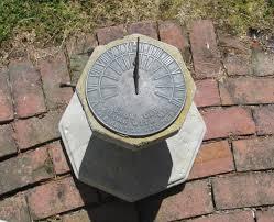 James Bond´s sundial.