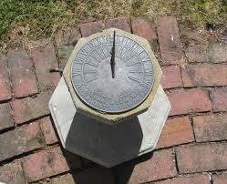 James Bond´s sundial.