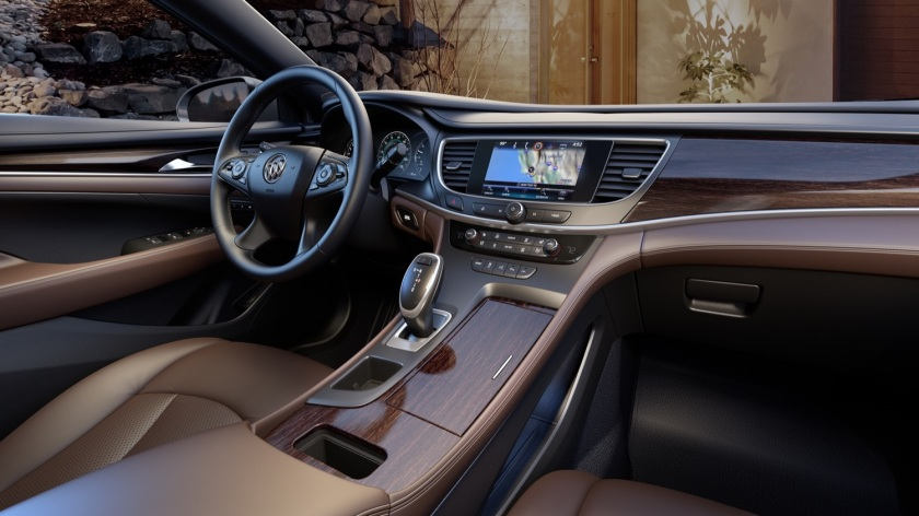 2017 Buick Lacrosse interior: gmauthority.com