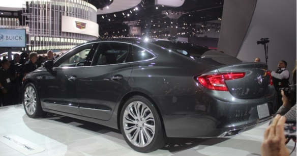 2017 Buick Lacross: thetruthaboutcars.com