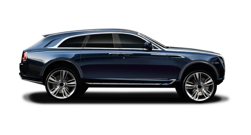 Unicorn ahoy! ARES concept Rolls Royce Ghost SUV. Nice.