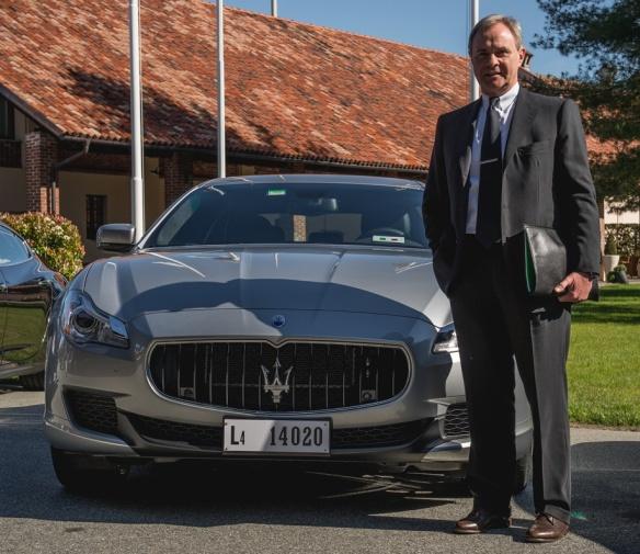 Maserati and Alfa Romeo CEO, Harald J Wester. Image via autoapassionati