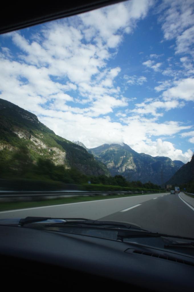 Switzerland, land of mountains.