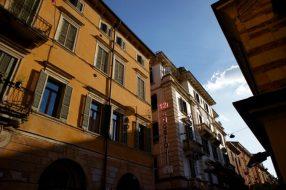 Verona. Touristy, but understandably so.