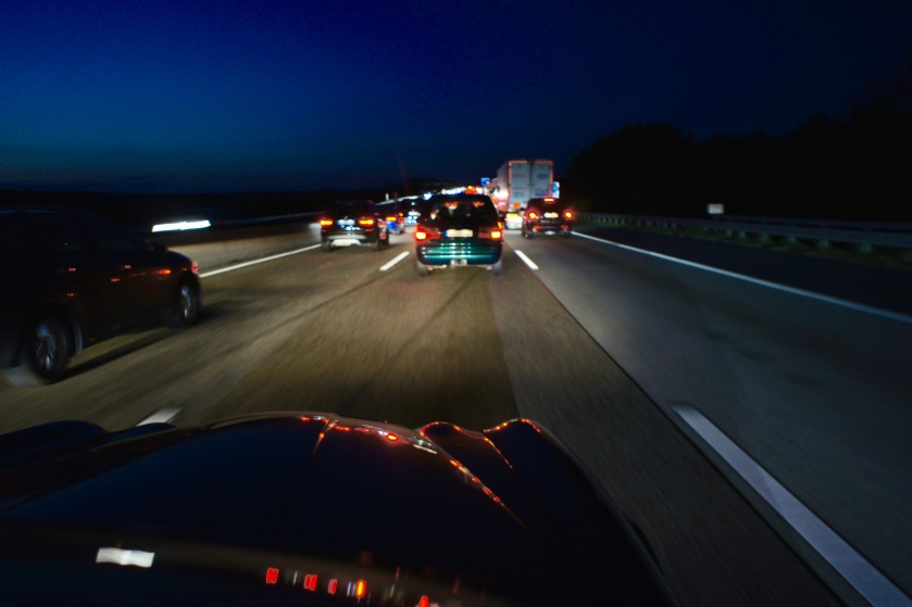 Back on the Autobahn.