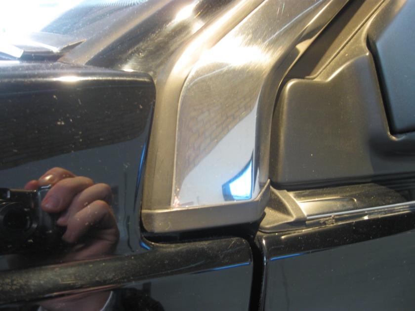 1986 Volvo 780 ES, detail.