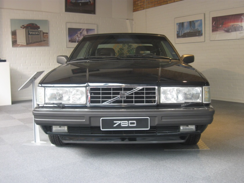 ...and this is the best photo I could get. 1986-1990 Volvo 780 ES by Bertone.