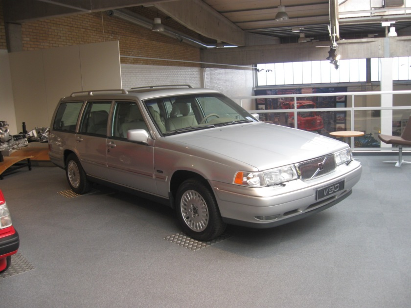 A rather bad photo of the Volvo 960 in its most sumptuous guise.