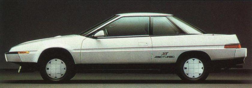 Subaru XT - image via zeperfs