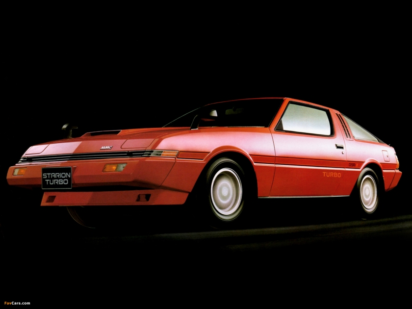 1982 Mitsubishi Starion: momentcar.com