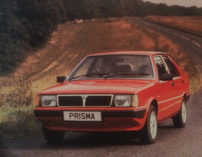 1984 Lancia Prisma: not a Ritmo.