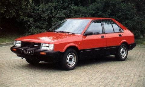 1985 Datsun (or Nissan) Cherry in 1600 flavour: www.motorbase.com