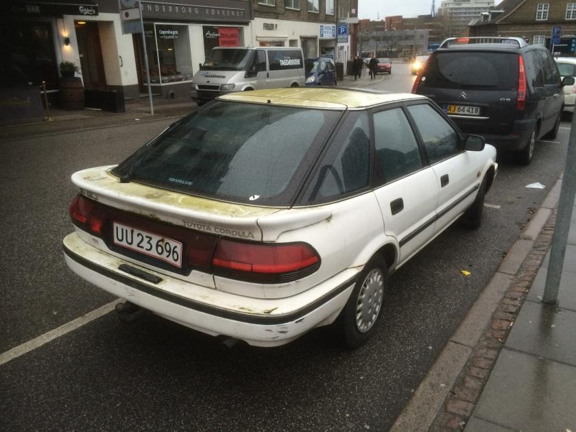1987 Toyota Corolla Liftback