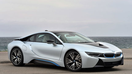 2015 BMW i8 - the future looks a bit like this: autoblog.com
