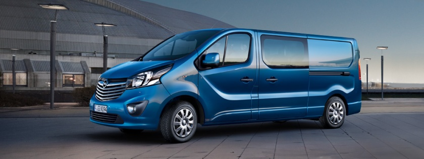 2015 Opel Vivaro Crew Van: www.opel.nl