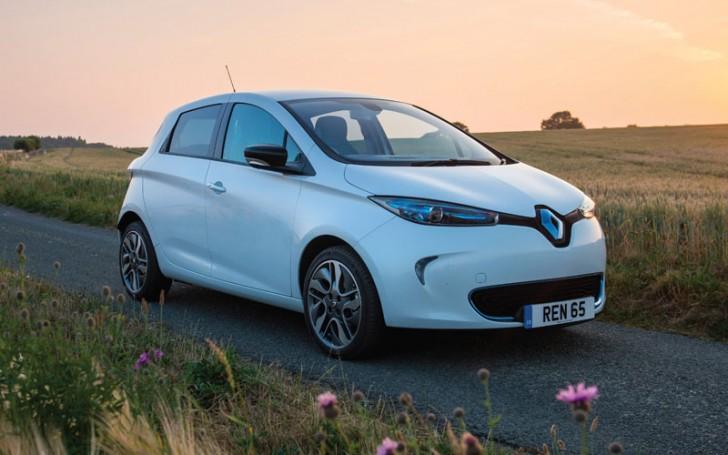 2015 Renault Zoe white