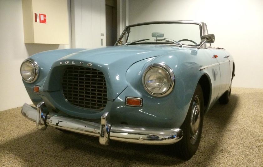 1956 Volvo P1900 cabriolet prototype.