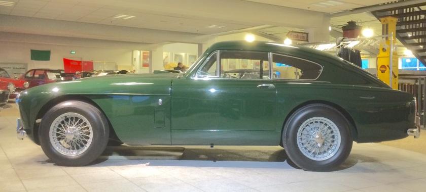 1958 Aston Martin DB3 at Sommer´s Car Museum, Næerum Copenhagen.