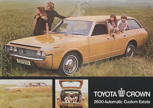 1972 Toyota Crown Estate: flickriver