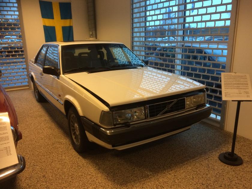 1984 Volvo 780 prototype