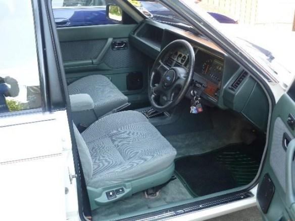 1985 Ford Granada 2.8 V6 estate interior: source