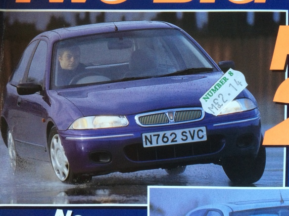 1995 or 1996 Rover 200: Autocar
