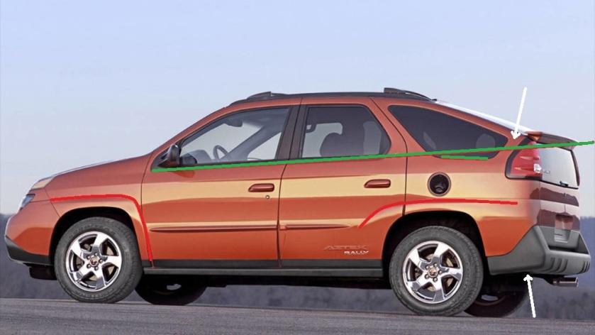 2001 Pontiac Aztek: caranddriver.com