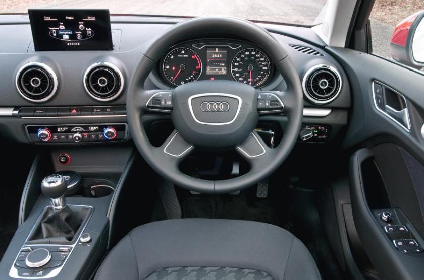 2015 Audi A3: autocar.co.uk