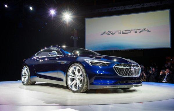 2016 Buick Avista blue front