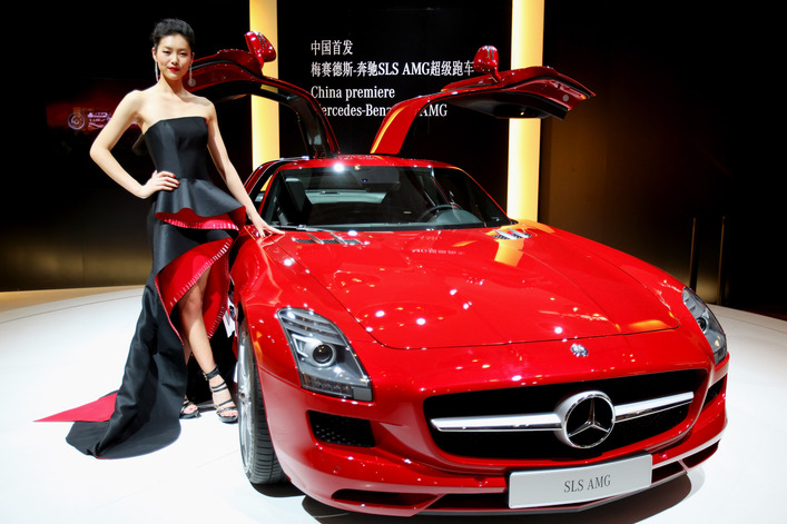 Auto China 2010 - image Feng Li/Getty Images