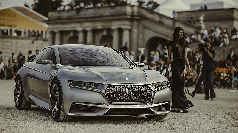 The Divine DS concept at Chantilly Style et Luxe. Image via frenchisgood
