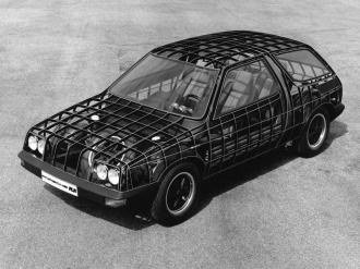 Porsche's 1973 FLA concept. Image: Jalopnik