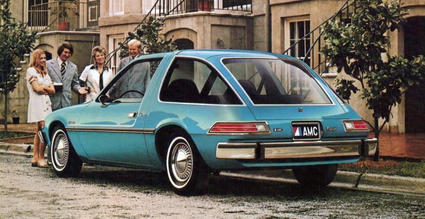 1975 AMC Pacer. Image via oppositelock