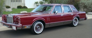 1989 Lincoln MkV1 Signature Series: wikipedia