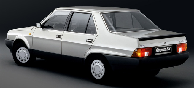 Here´s one from an earlier time, the 1983-1990 Fiat Regata: source