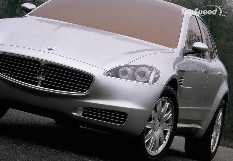 2003 Maserati Kubang concept. Image:Topspeed